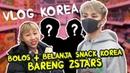 BOLOS BELANJA SNACK KOREA BARENG Z STARS ! VAN VIN VLOG KOREA