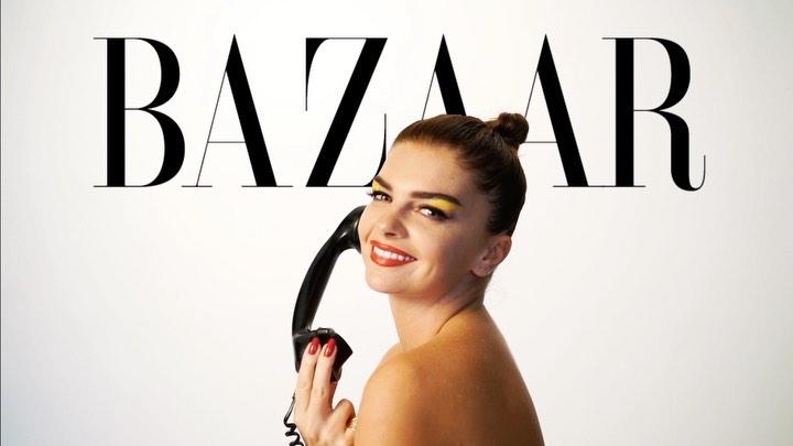 """Harper's Bazaar Türkiye on Instagram """"Harpers Bazaar olarak Türkiyedeki maceramız başlayalı tam 25 yıl oldu. Yeni yaşımızı, ikonik Harpers Baza..."""