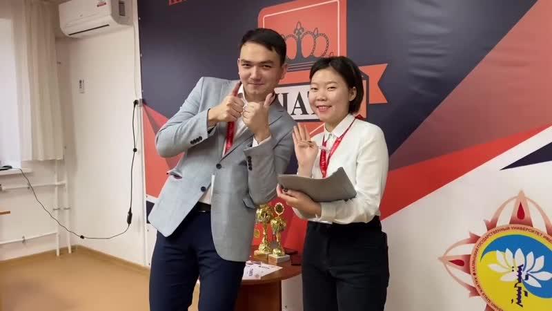 Зимний Кубок по шахматам на призы Студенческого совета при ректоре КалмГУ