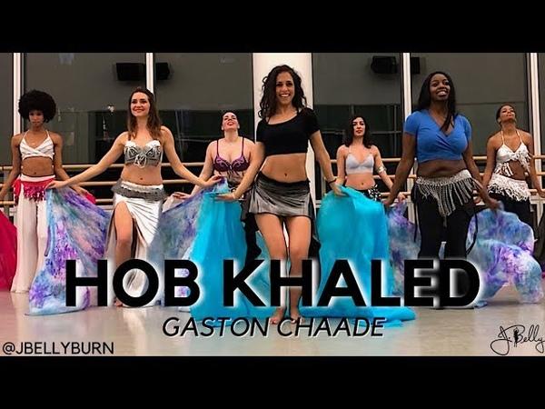 Veil Dance Class HOB KHALED Gaston Chaade @JBELLYBURN VEIL CHOREOGRAPHY