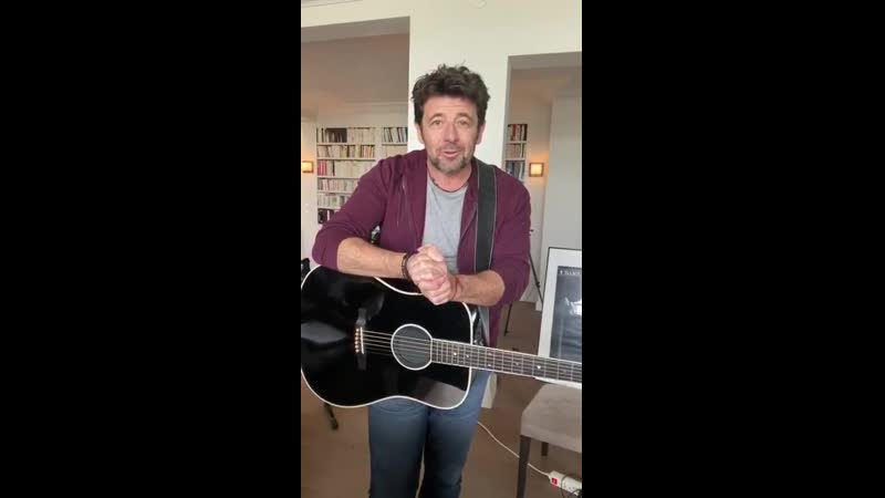 Patrick Bruel Stand up at home annonce 03 04 2020