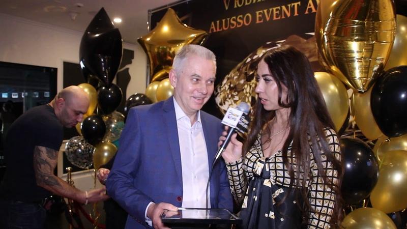 ShowMens-интервью с Игорем Лузиным (холдинг Путь к истоку) на ПРЕМИИ ALUSSO EVENT AWARDS