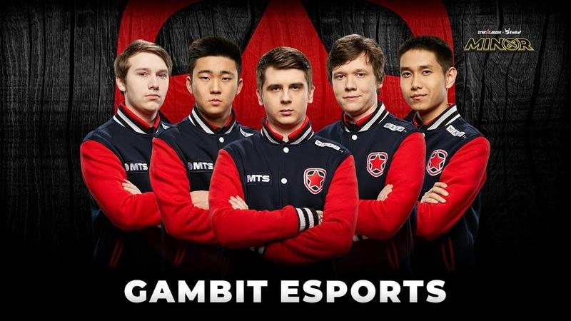 Team Profile Gambit Esports StarLadder ImbaTV Dota 2 Minor Season 3