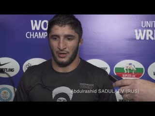 Abdulrashid SADULAEV (RUS)_ 97kg World Champion