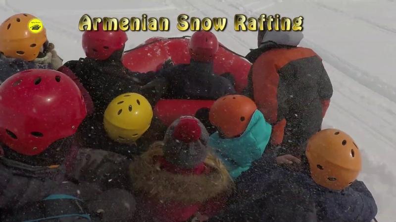 Snow Rafting Armeniansnowrafting