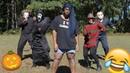 Starrkeisha VS Michael Myers, Freddy, Jason, Ghostface 😂🔥🎃 (DANCE OFF)   Random Structure TV