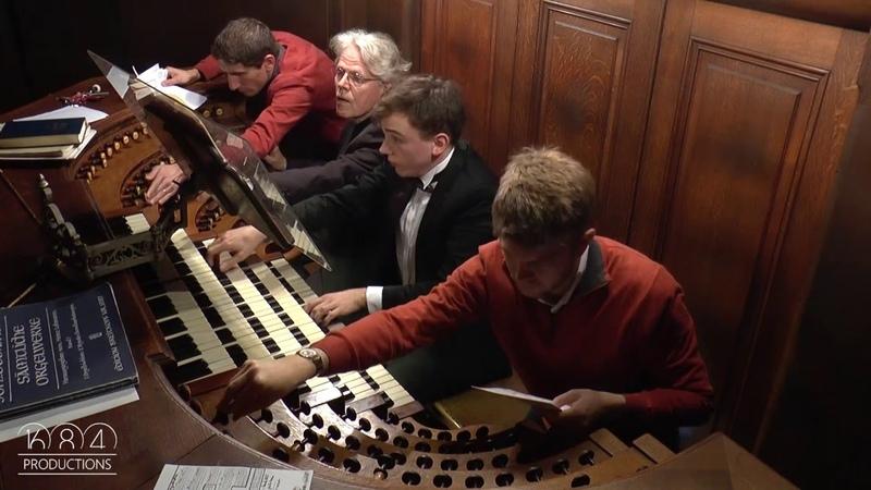 Saint Sulpice organ Thomas Ospital plays Duruflé Prélude Adagio Choral varié 3 3 15 Nov 2015