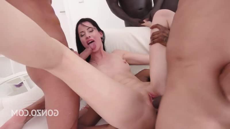 Mary Rose Anal, Gangbang, Hardcore, Brunette, Cumshot, 720p