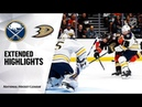 Buffalo Sabres vs Anaheim Ducks | Oct.16, 2019 | Game Highlights | NHL 2019/20 | Обзор матча