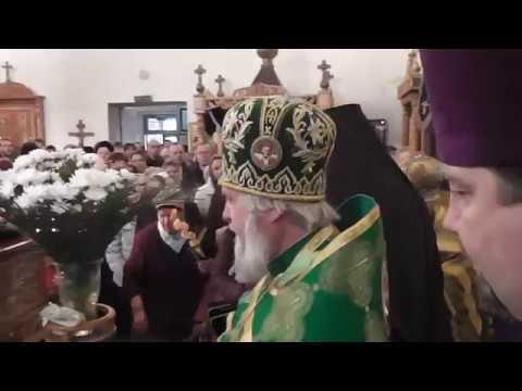 Вербное Воскресение Архиереская служба 2013