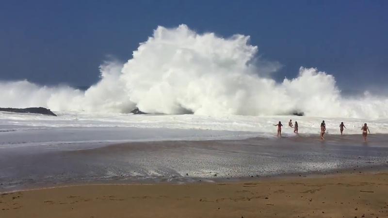 Гигантские волны на Гавайях полное погружение в безумие