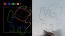 Как нарисовать Ночное Сияние (Как приручить дракона), поэтапный урок. How to draw a dragon.