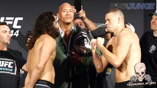 МАСВИДАЛЬ ДИАЗ ВЗВЕШИВАНИЕ UFC 244 СЛОВА ПЕРЕД БОЕМ
