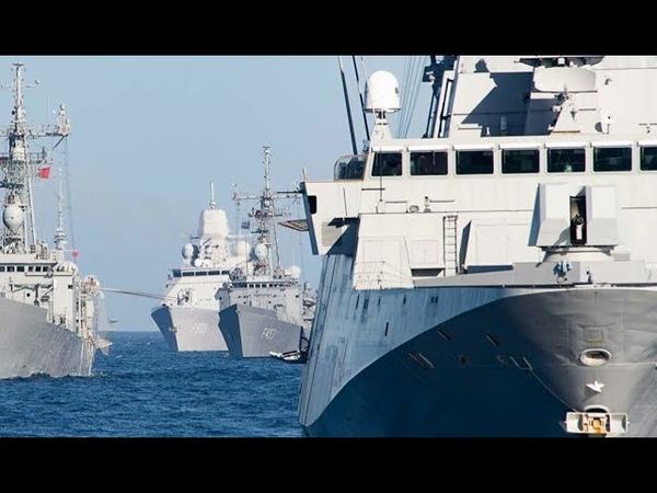 7 кораблів прорвалось НАТО в ударі Окупанти влаштували підлість їх взяли в кільце Догрались