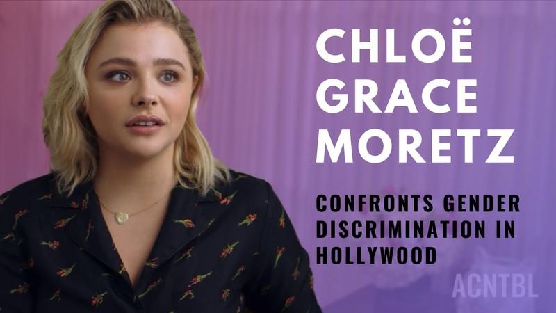 Actor ChloëGraceMoretz Confronts Gender Inequality in Hollywood