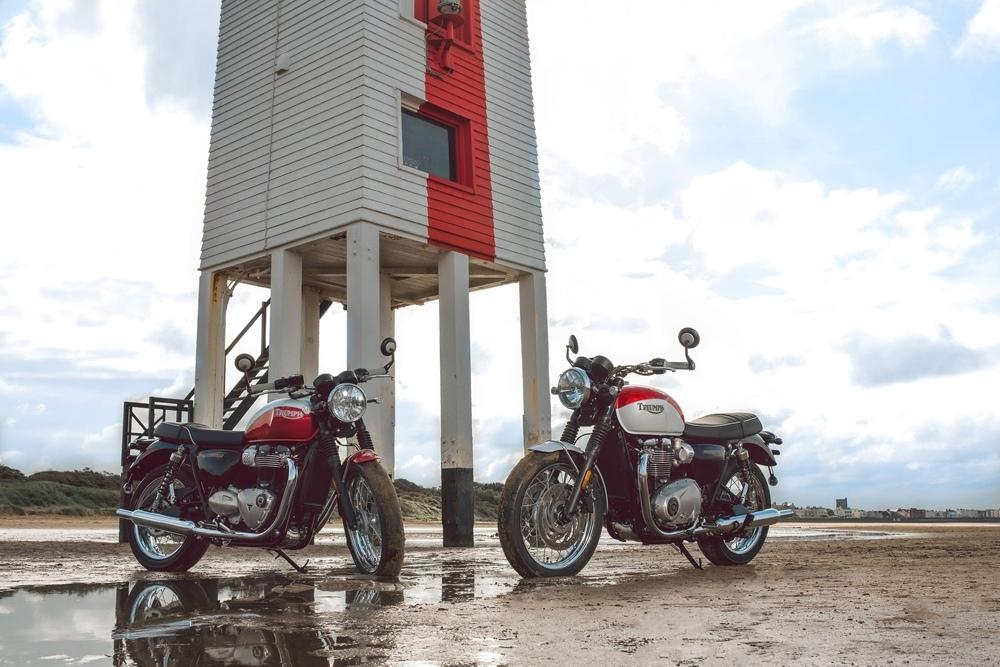 Специальный выпуск Triumph T100 / T120 Bud Ekins Edition