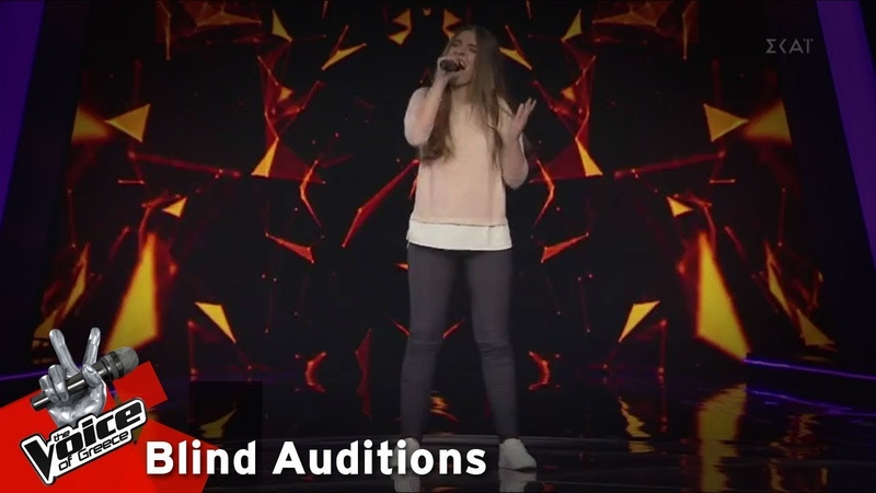 Σταματία Κλειδομύτη Sweet Understanding Love 12o Blind Audition The Voice of Greece