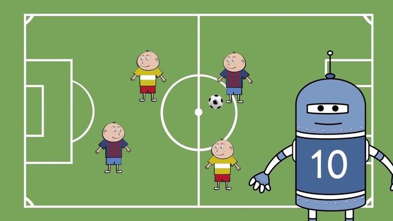 Футбик о футболе. Серия 3. Линия паса