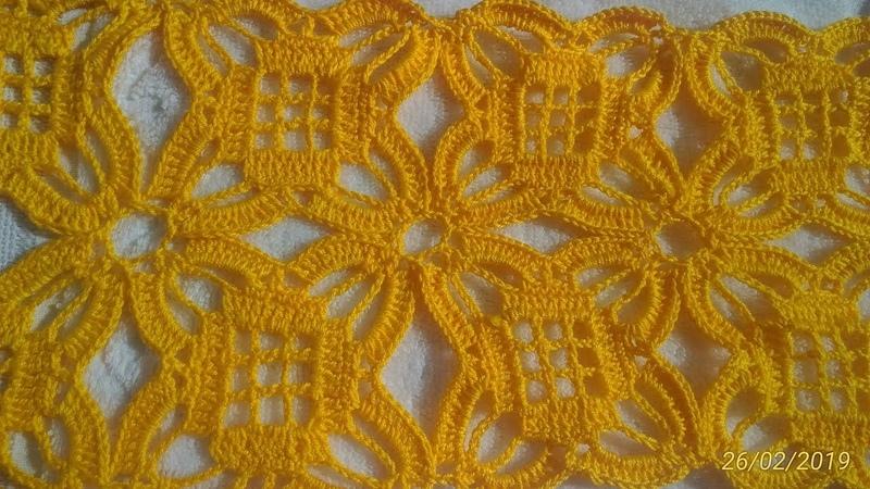 Trabalho de Crochê para fazer Colchas de Cama
