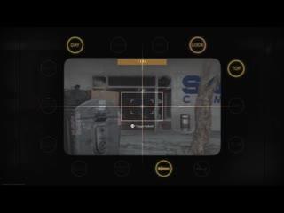Eliminating the roof snipers triple kill, double kill, triple kill. modern warfare
