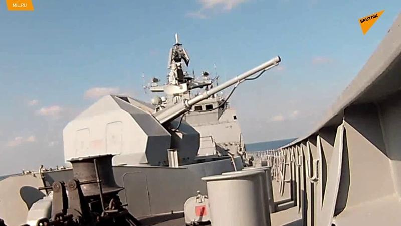 Bylo zveřejněno video ze společného cvičení námořnictva a Vzdušně kosmických sil Ruské federace
