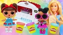Куклы ЛОЛ в видео сборнике – Барби готовит вкусняшки ПЛЕЙ ДО! – Новые игры для девочек онлайн.