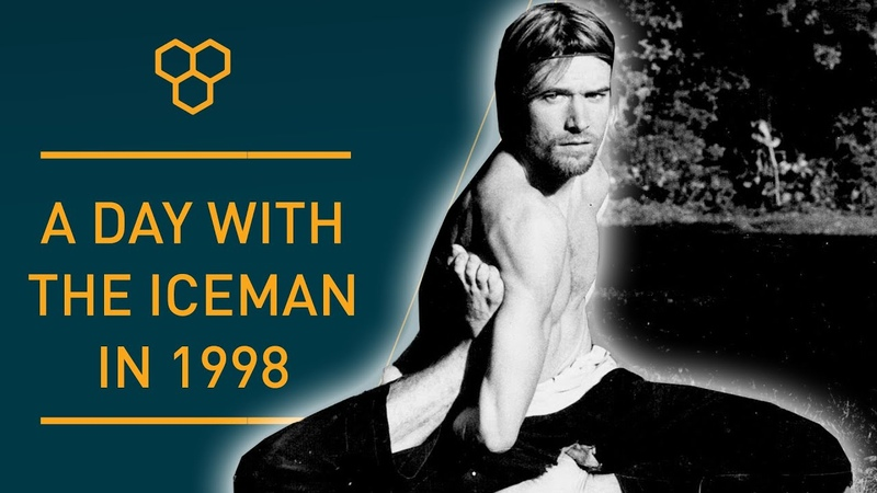 Iceman Wim Hof Throwback | A day with Wim in 1998