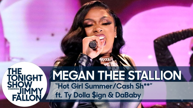 Megan Thee Stallion ft. Ty Dolla $ign and DaBaby: Hot Girl Summer/Cash Sh** Medley