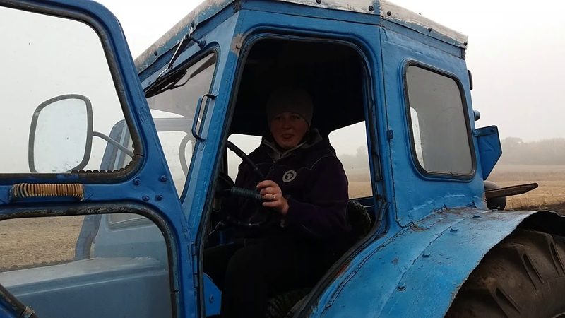Трактор Т-40 Пахота 2017 р. Часть 1.