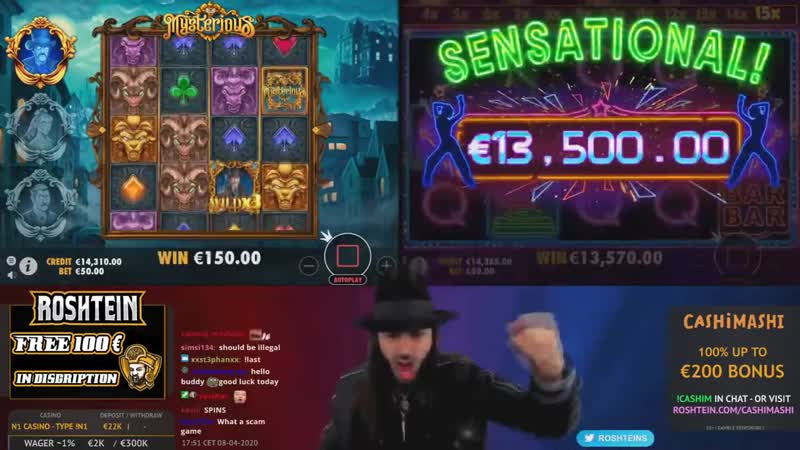 Casino USA - ROSHTEIN New Big Win 50.000€ on TheDog House slot - TOP 5 Mega wins of the week
