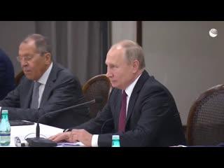 Встреча Путина и Си Цзиньпина на саммите БРИКС
