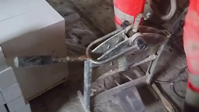 Ручная гильотина для колки кирпича