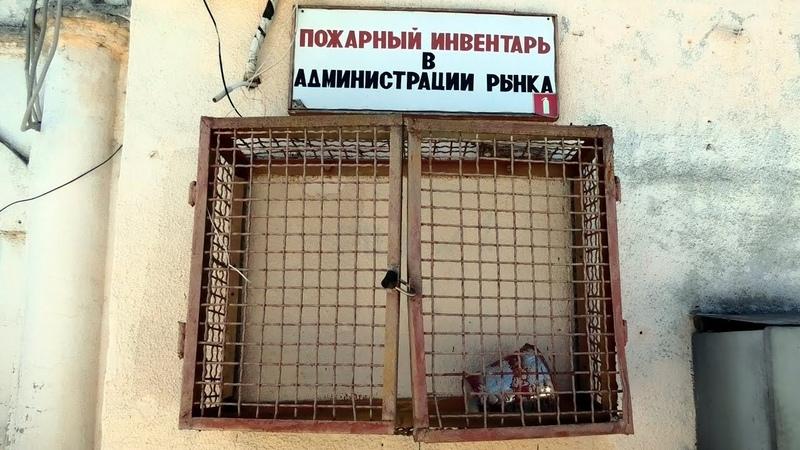 Автовокзал Безнос младший мусор и мутные воды пгт Советский КРЫМ