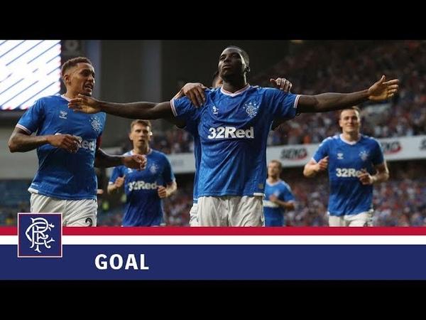 GOAL | Sheyi Ojo | Rangers 2-0 Progres Niederkorn