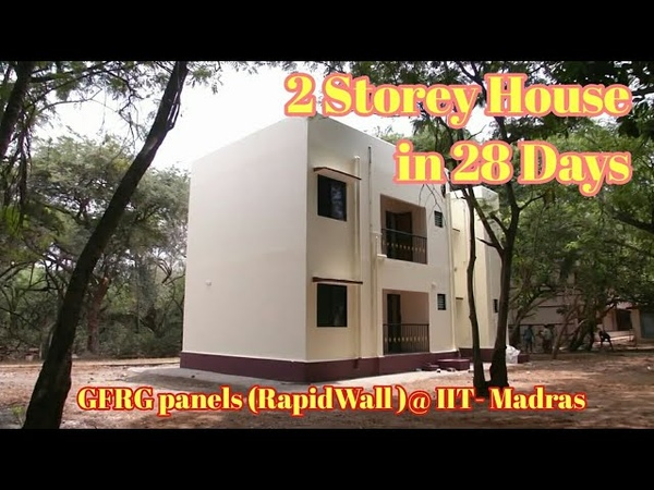 Low Cost House Construction India GFRP Precast