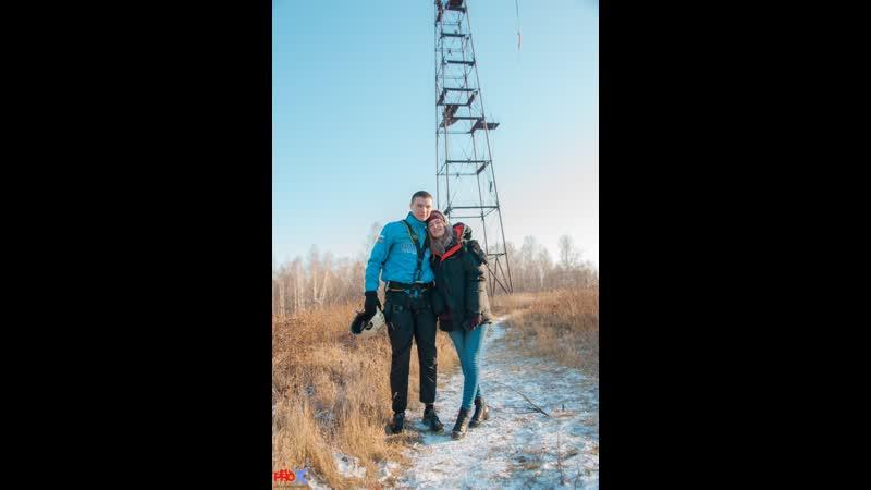 Evgeniy S. прыжок FreeFallProX команда ProX74 объект AT53 Chelyabinsk 2019 1 jump RopeJumping