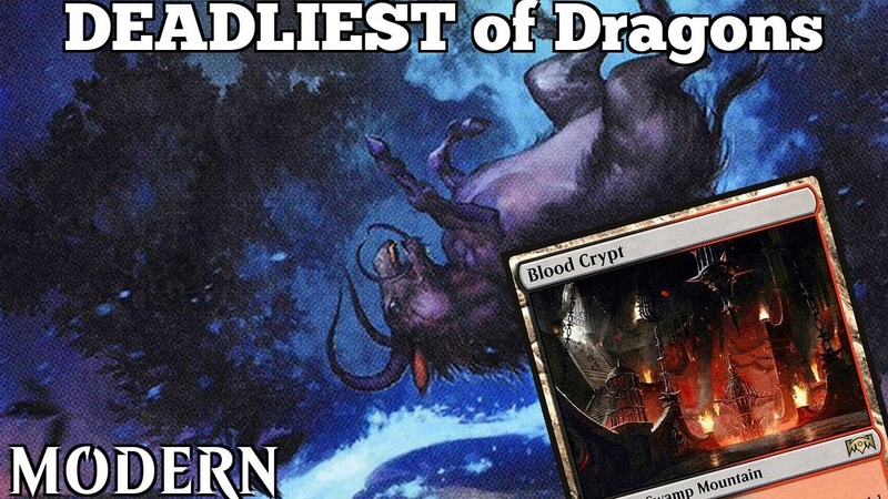 DEADLIEST of Dragons | Modern [MTGO] | Grixis Lurrus Control | Modern