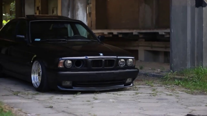 BMW e34 Tuning, Stance, Exhaust Sound ( PART 1 )