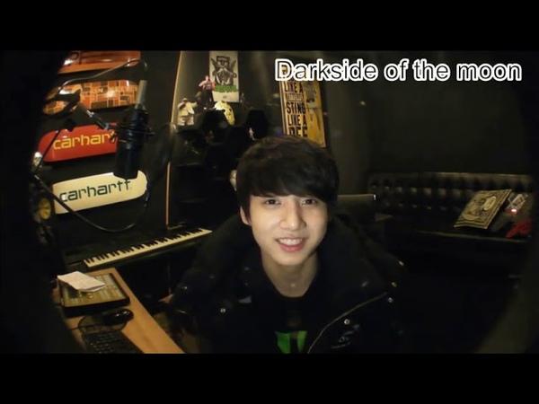 [RUS SUB] BTS 130403 정국 - Чонгуку больно от того, что из-за болезни он не может петь