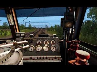 TRS19, Горячий Ключ, смена локомотивов