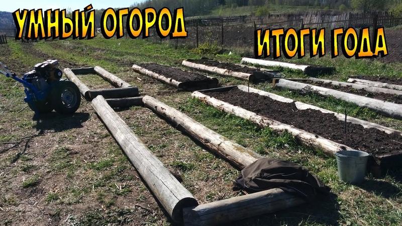 Умный огород Высокие теплые грядки Итоги года