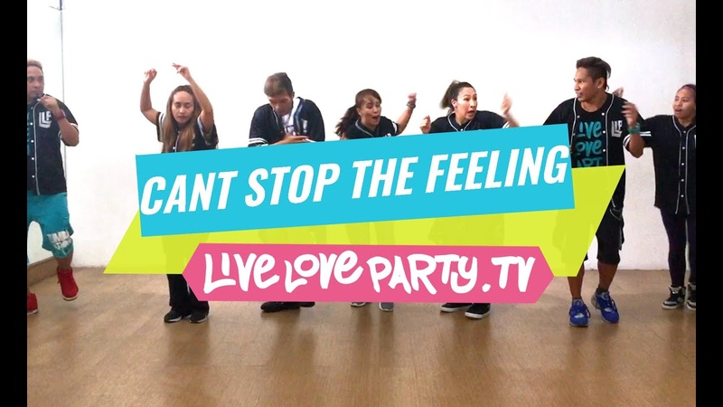 Cant Stop The Feeling by Justin Timberlake Zumba® Live Love Party Dance Fitness