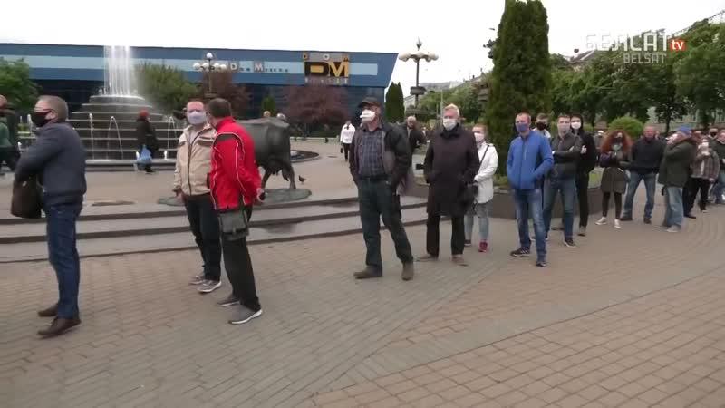 Словесное уничтожение Лукашенко Видеоотчет с улиц mp4