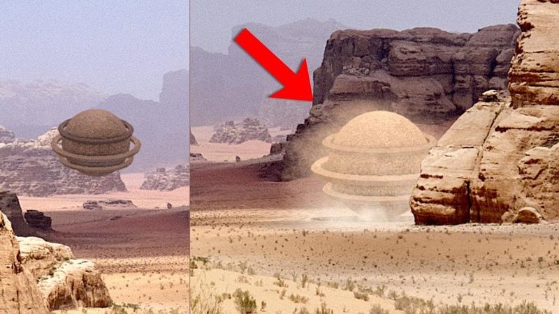 Huge UFO over Wadi Rum desert, Jordan! Best UFO Sightings