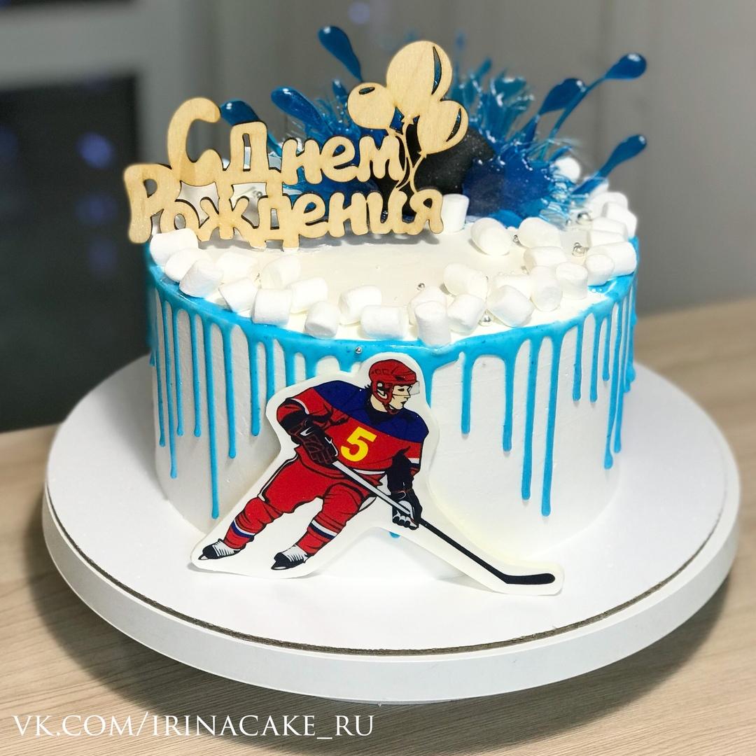 Торт для хоккеиса (Арт. 537)