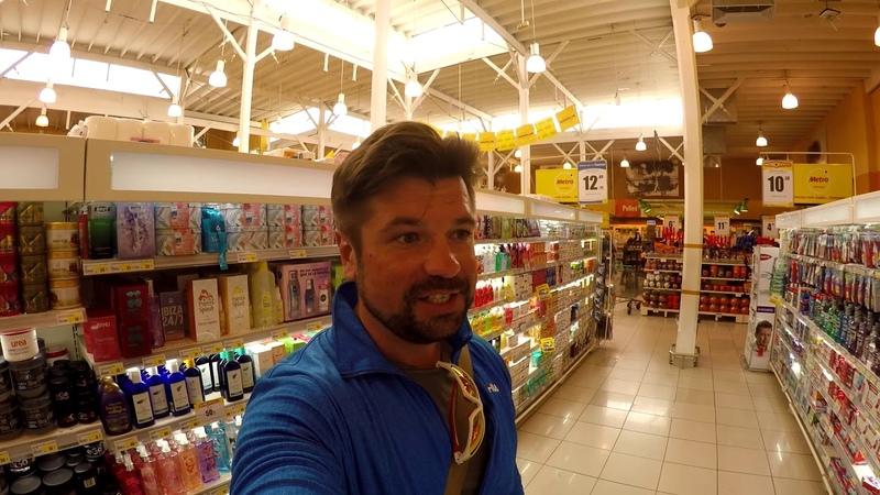 Перу 08 голодный японец в супермаркете
