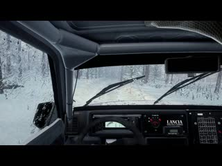 Lancia Delta Integrale. Happy New Year with best Lancia and Max Attack. Snow<3 Sweden.