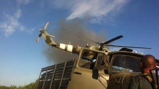 Расстрел украинскими вертолетами своих украинских частей в Волноваха (Благодатное) 22 мая 2014