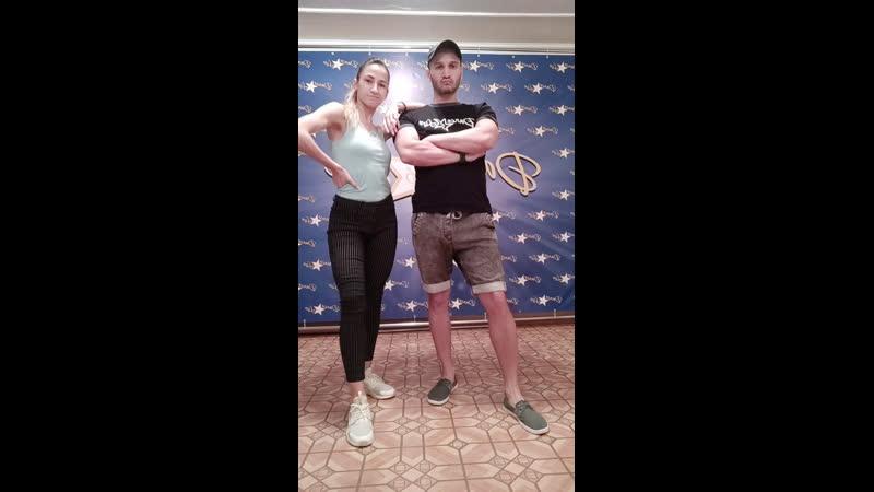 DANCE and LIVE   Меренге в Самаре   Денис Новиков и Анастасия Павленко   Оставайся дома   Самара   2020