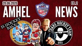"AMHEL News #2 | HOCKEY RETURNS TO THE ICE, OKTOBERFEST 2020, ""CROSS BEES"", ""REIDARS"""